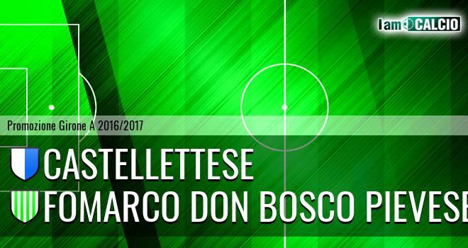 Castellettese - Fomarco Don Bosco Pievese