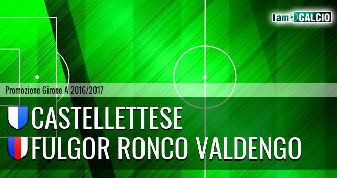 Castellettese - Fulgor Ronco Valdengo