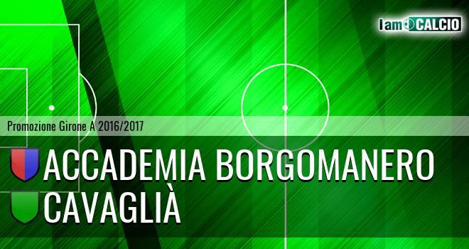 Accademia Borgomanero - Cavaglià