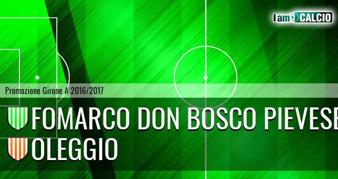 Fomarco Don Bosco Pievese - Oleggio