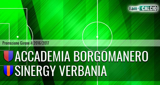 Accademia Borgomanero - Sinergy Verbania