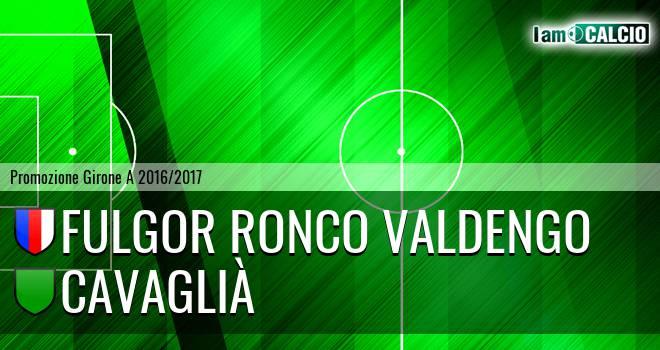 Fulgor Ronco Valdengo - Cavaglià