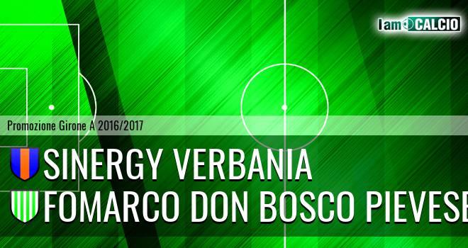 Sinergy Verbania - Fomarco Don Bosco Pievese