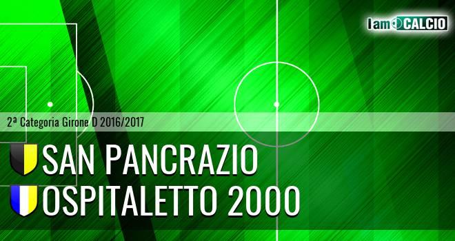 San Pancrazio - Ospitaletto 2000