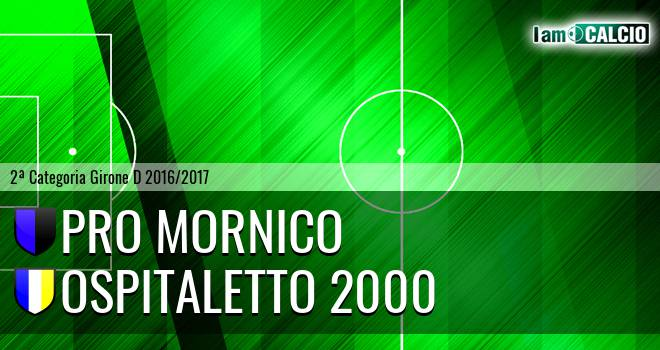 Pro Mornico - Ospitaletto 2000