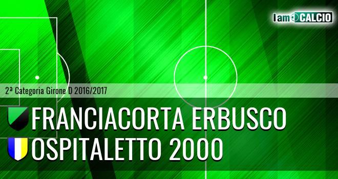 Franciacorta Erbusco - Ospitaletto 2000