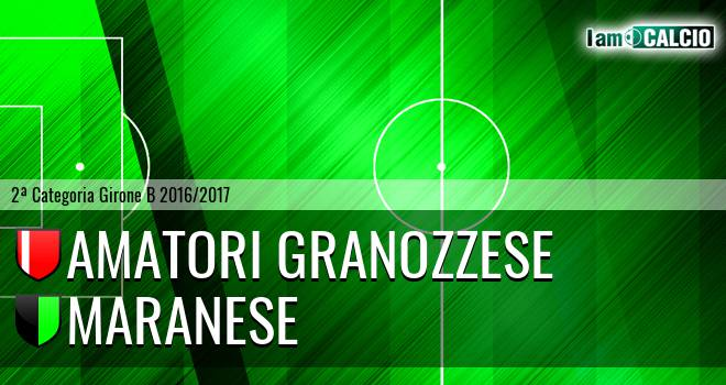 Amatori Granozzese - Maranese