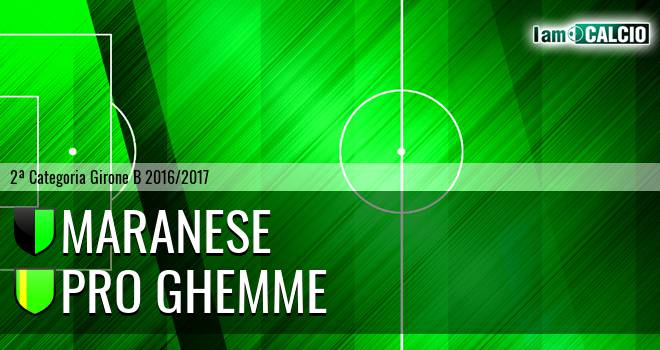 Maranese - Pro Ghemme