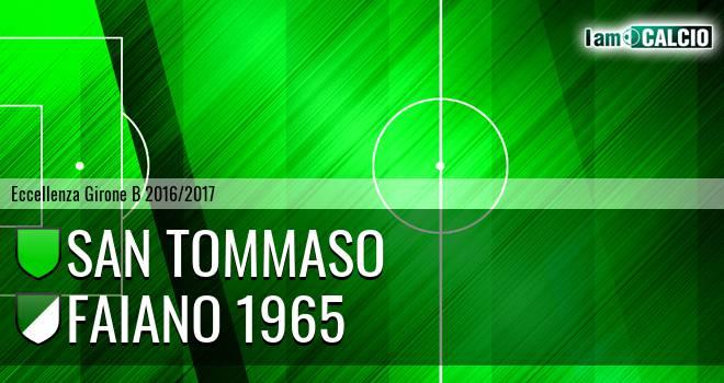 San Tommaso - Faiano 1965