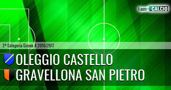Oleggio Castello - Gravellona San Pietro