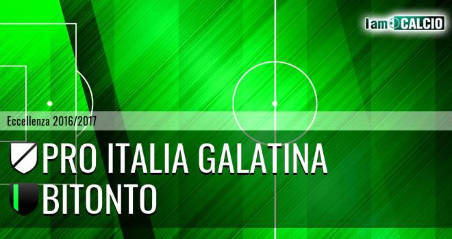 Pro Italia Galatina - Bitonto