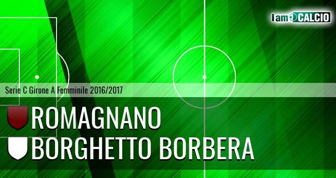 Romagnano Femminile - Borghetto Borbera