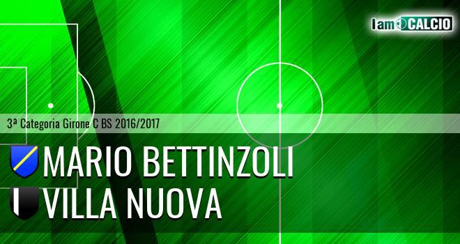 Mario Bettinzoli - Villa Nuova
