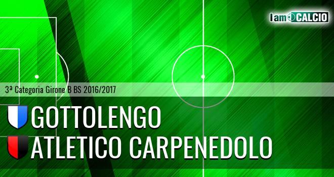 Gottolengo - Atletico Carpenedolo