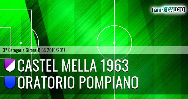 Castel Mella 1963 - Oratorio Pompiano