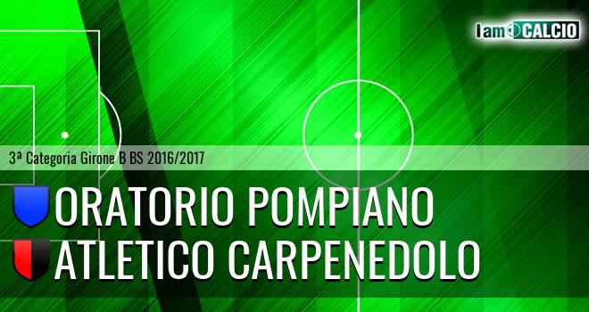 Oratorio Pompiano - Atletico Carpenedolo