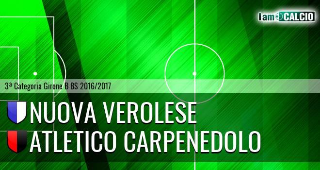 Nuova Verolese - Atletico Carpenedolo