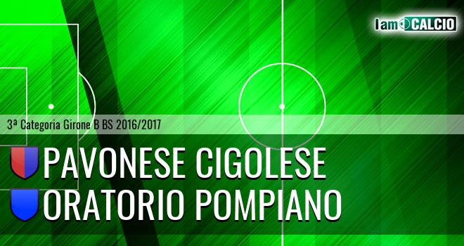 Pavonese Cigolese - Oratorio Pompiano