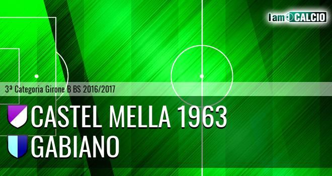 Castel Mella 1963 - Gabiano