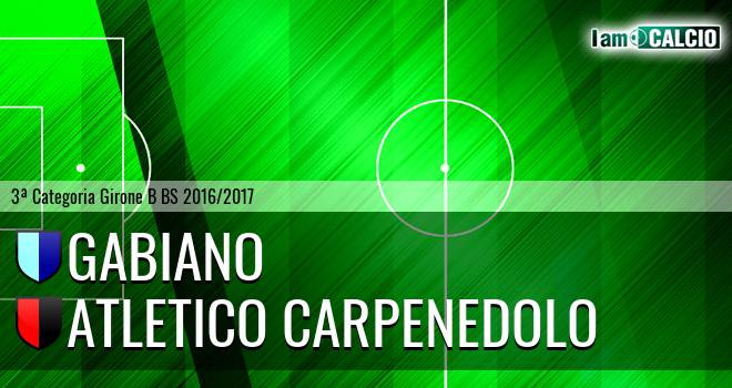 Gabiano - Atletico Carpenedolo