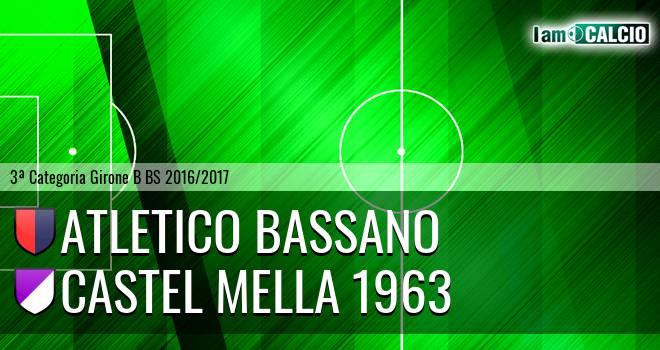 Atletico Bassano - Castel Mella 1963