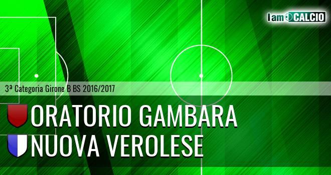 Oratorio Gambara - Nuova Verolese