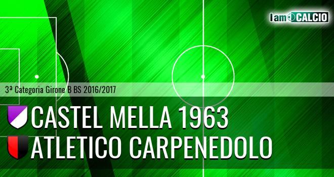 Castel Mella 1963 - Atletico Carpenedolo