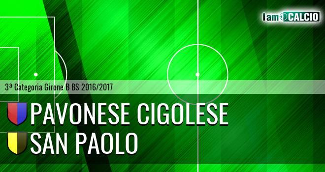 Pavonese Cigolese - San Paolo