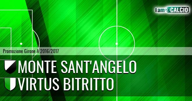 Monte Sant'Angelo - Virtus Bitritto