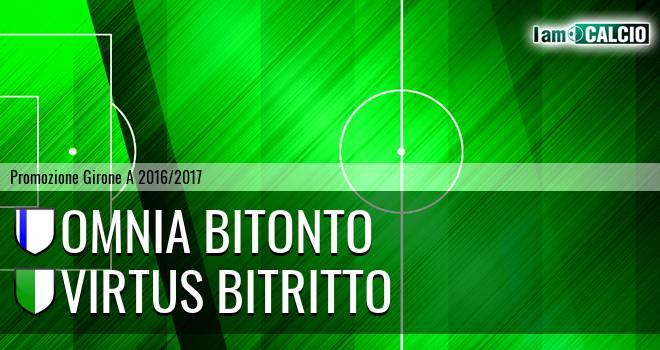 Omnia Bitonto - Virtus Bitritto