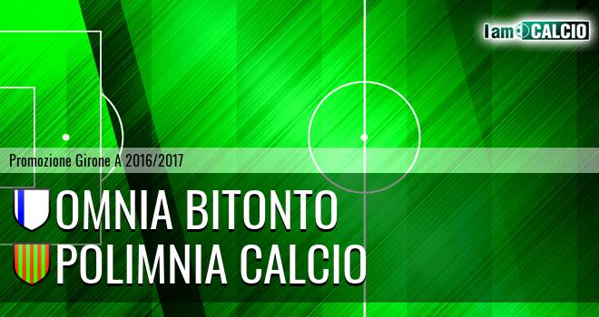 Omnia Bitonto - Polimnia Calcio