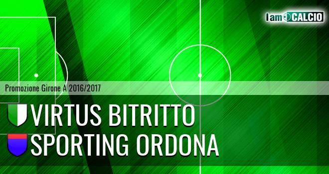 Vigor Bitritto - Sporting Ordona