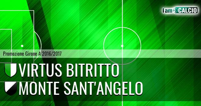 Vigor Bitritto - Monte Sant'Angelo