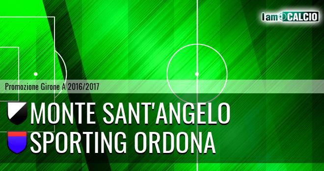 Monte Sant'Angelo - Sporting Ordona