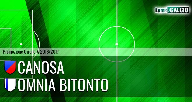Canosa - Bitonto Calcio