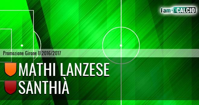 Mathi Lanzese - Santhià