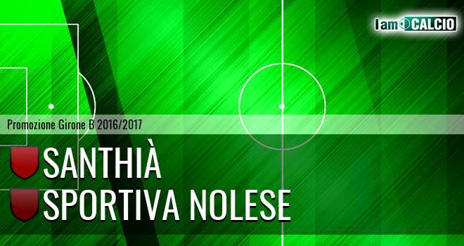 Santhià - Sportiva Nolese