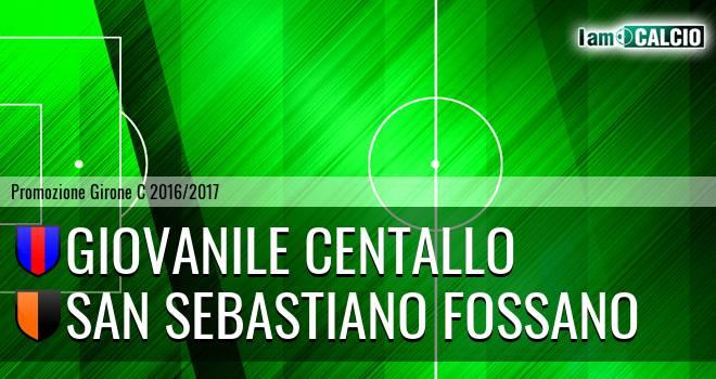 Giovanile Centallo - San Sebastiano Fossano