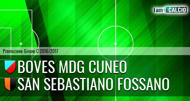 Boves MDG Cuneo - San Sebastiano Fossano
