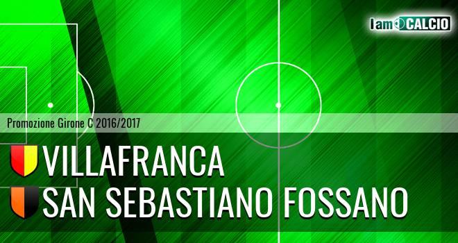 Villafranca - San Sebastiano Fossano
