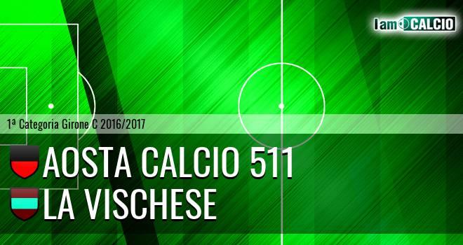 Aosta Calcio 511 - La Vischese