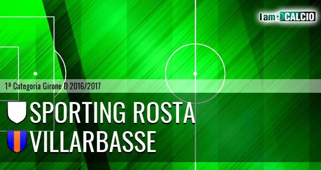 Sporting Rosta - Villarbasse