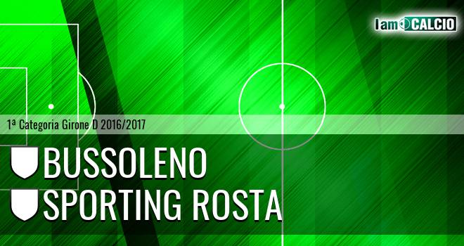 Bussoleno - Sporting Rosta