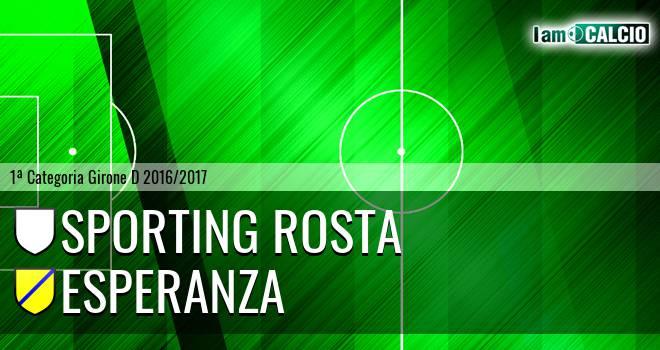 Sporting Rosta - Esperanza