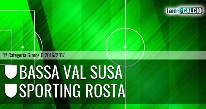 Bassa Val Susa - Sporting Rosta