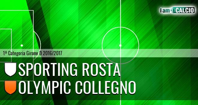 Sporting Rosta - Olympic Collegno