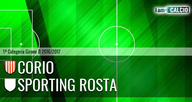 Corio - Sporting Rosta