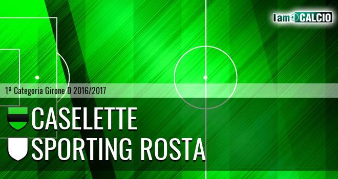 Caselette - Sporting Rosta
