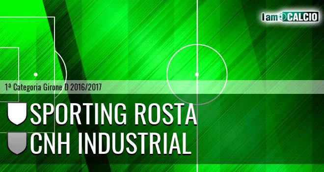 Sporting Rosta - Cnh Industrial