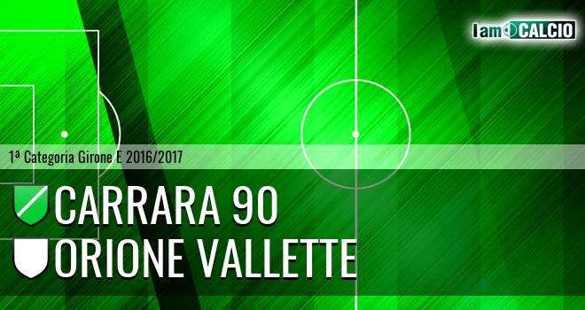 Carrara 90 - Orione Vallette